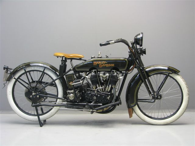 Harley-Davidson modelo 23J de 1.000 cc