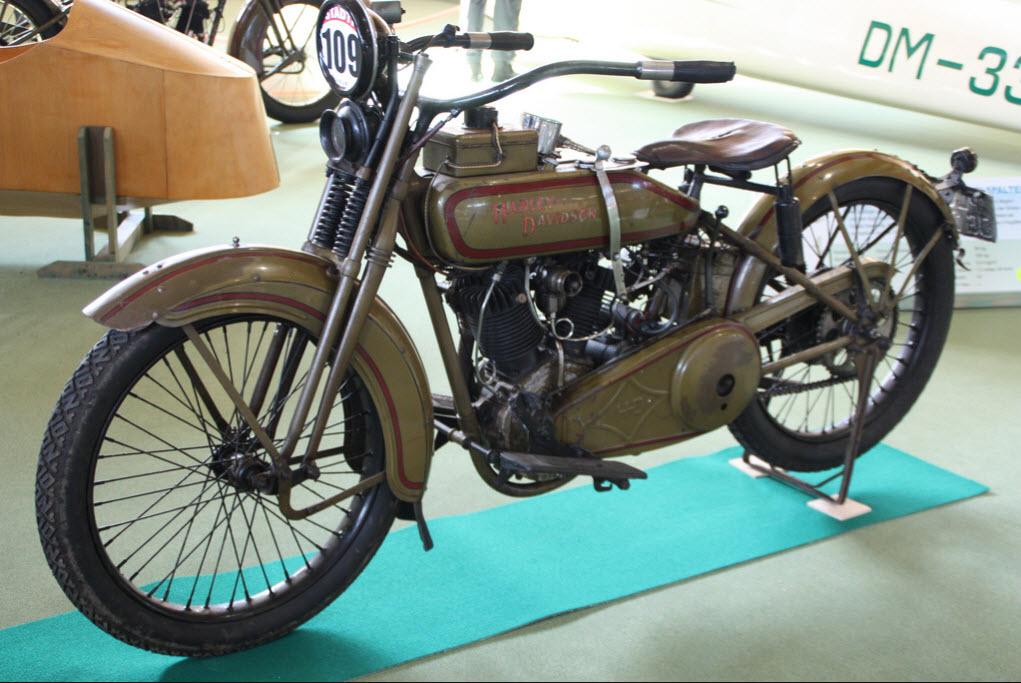 Harley-Davidson modelo 24JE - F-Head