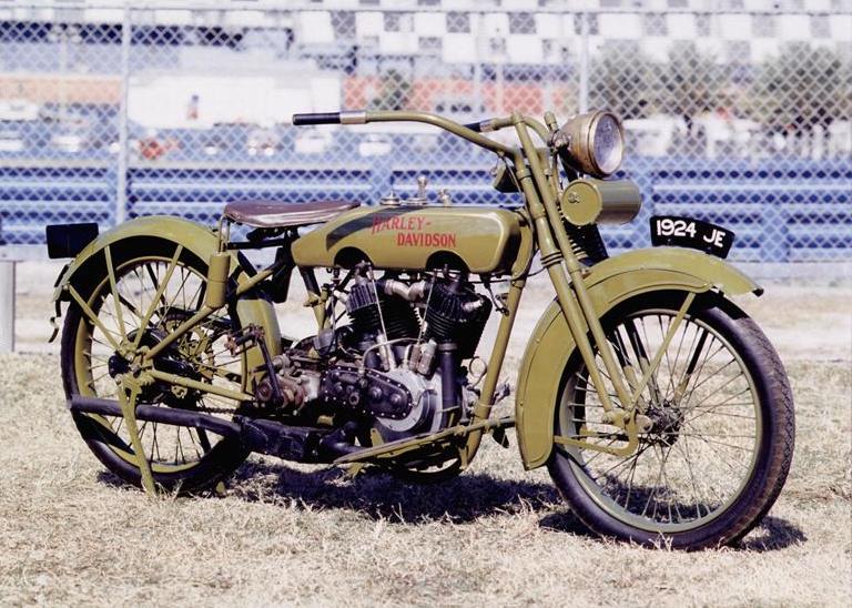 Harley-Davidson modelo JE de 1924