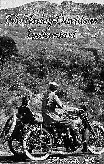 "Revista ""The Enthusiast"" de 1924"