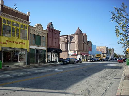 Calle Vliet Street de Milwaukee