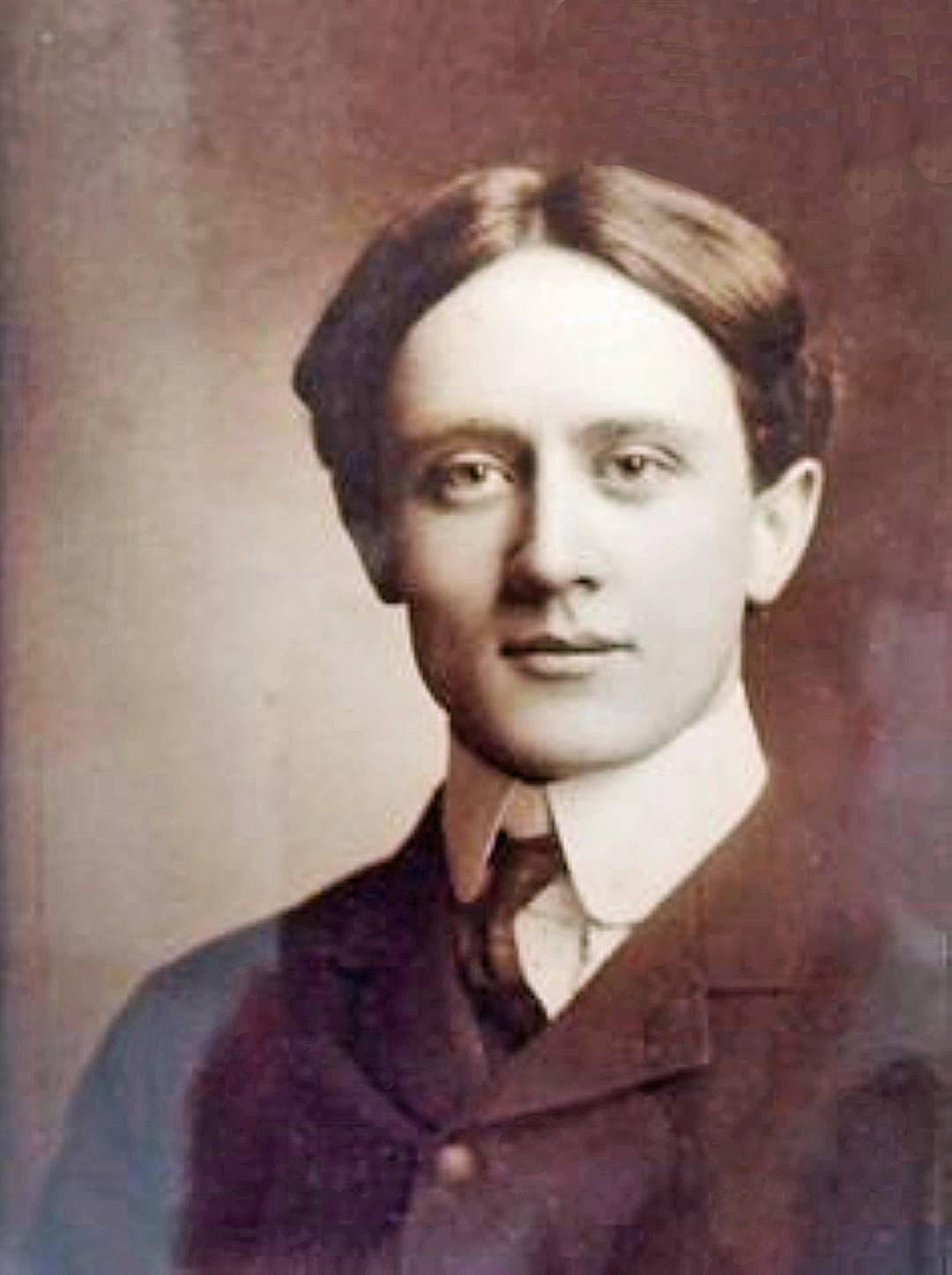 Bill Harley en 1890