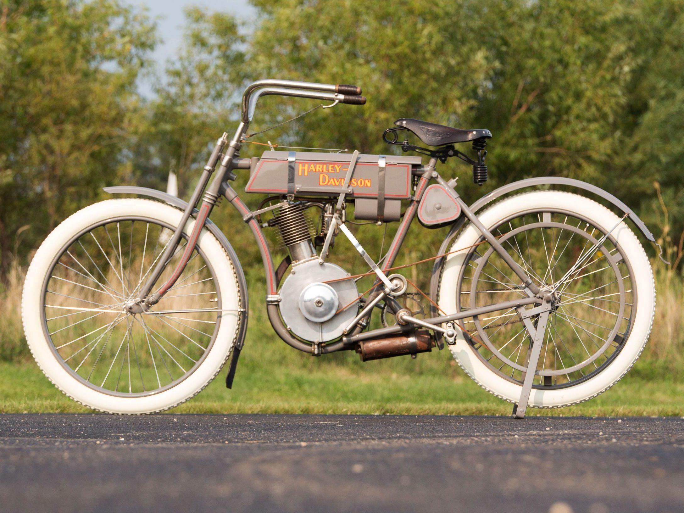 1908 - Modelo 4 - Harley-Davidson