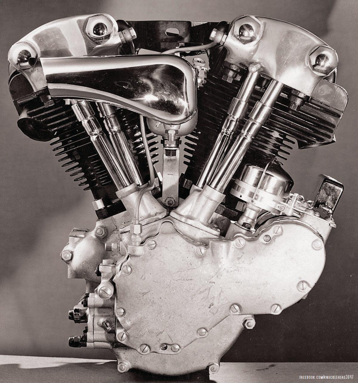 """Un motor EL/EF """"Knucklehead"""""""