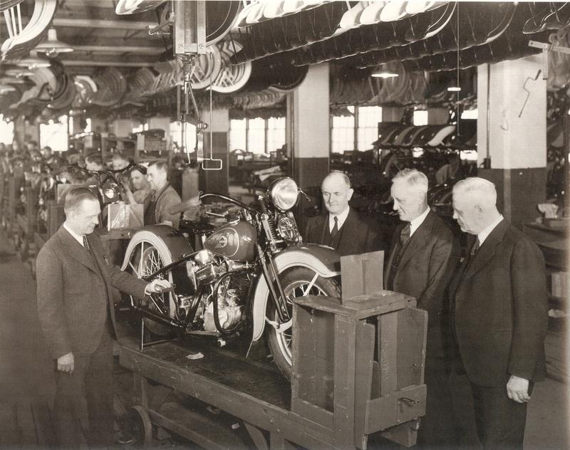 Los cuatro fundadores y la Knucklehead