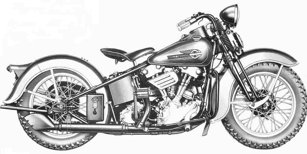 "1936 - Harley-Davidson EL ""Knucklehead"""