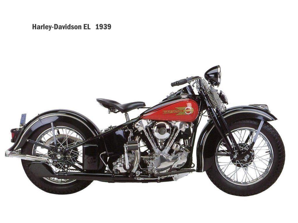 Harley-Davidson EL - Knucklehead de 1939
