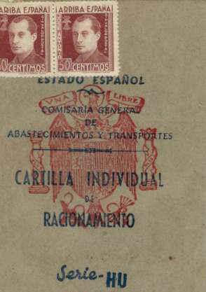Cartilla de racionamiento de 1946