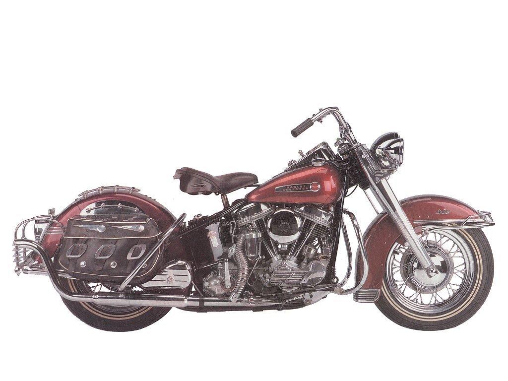 "1950 - modelo EL ""Hydra Glide"""