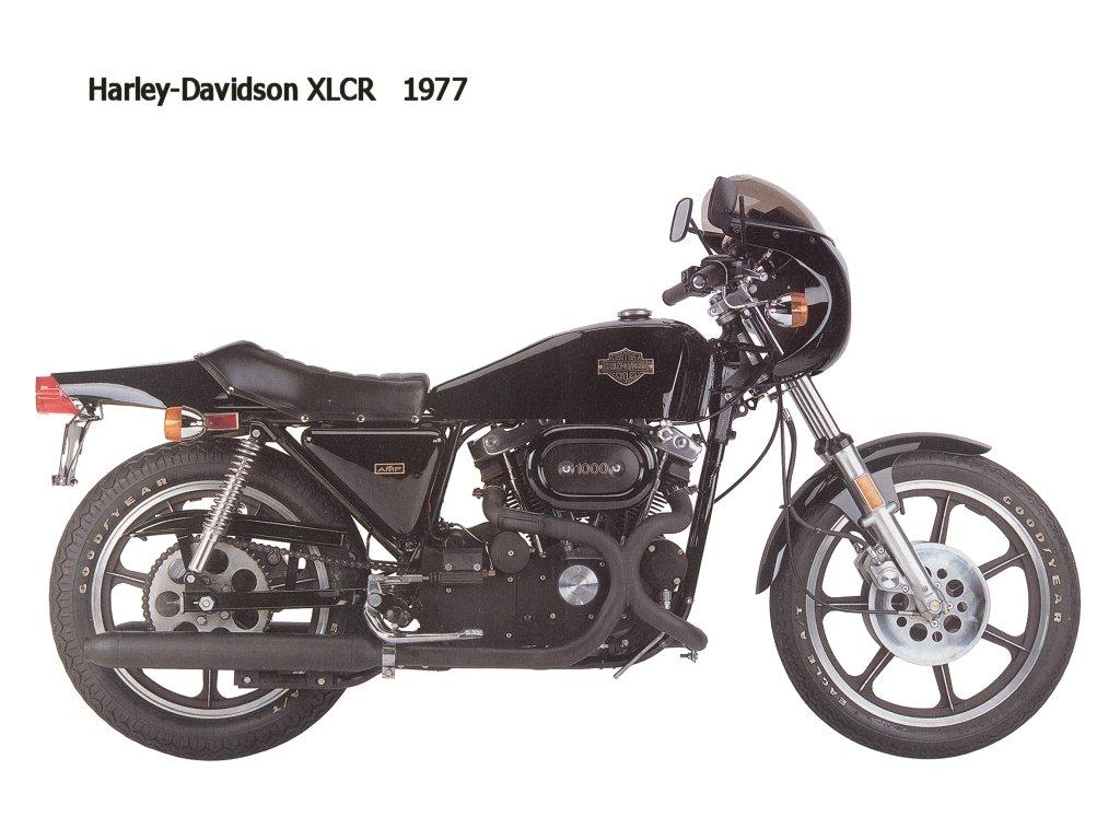 1977 - Modelo XLCR
