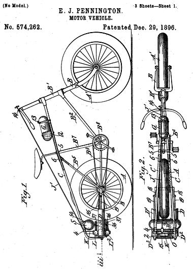 Patente del modelo Pennington