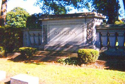 Panteón familiar de los Davidson