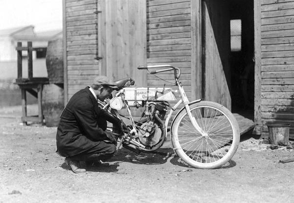 Un chasis curvado de 1905