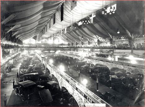 Chicago Auto-Show - 1907