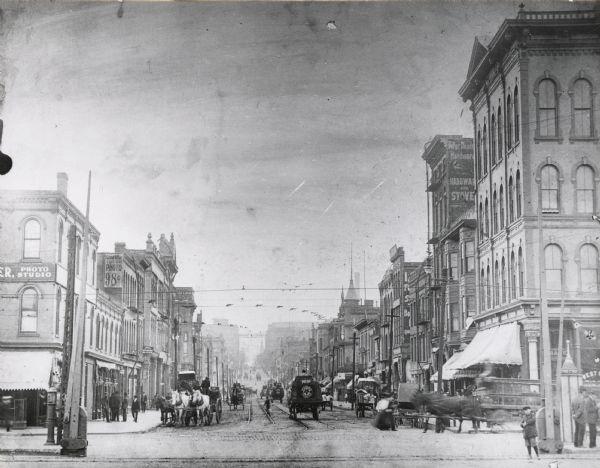 Chestnut Street. Finales de 1890