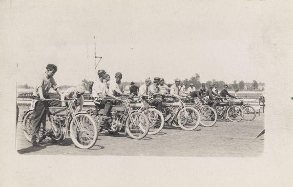 Una carrera a principios del S.XX