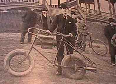 La moto de Pennington