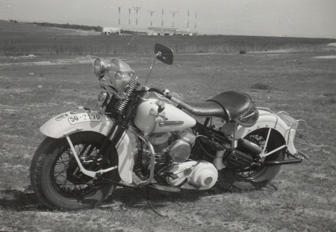 1972 - Harley-Davidson WL45 (Vista izda)