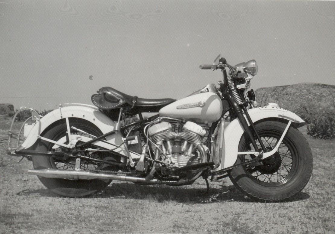 1972 - Harley-Davidson WL45 (Vista dcha)