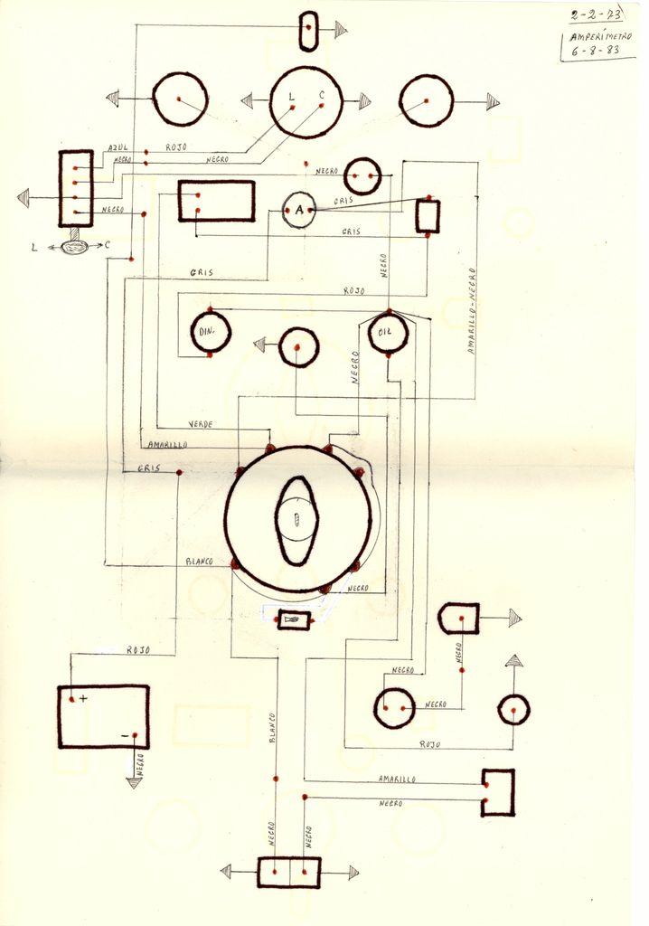 1973 - Esquema eléctrico