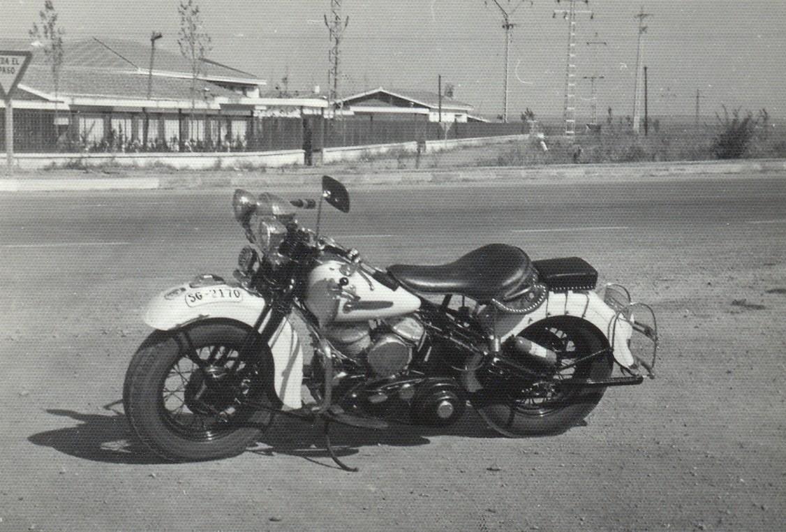 1973 - Harley-Davidson WL45 (Vista izda)