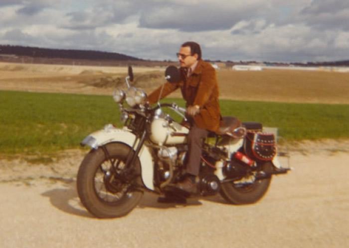 1975 - En el camino Cáceres - Malpartida