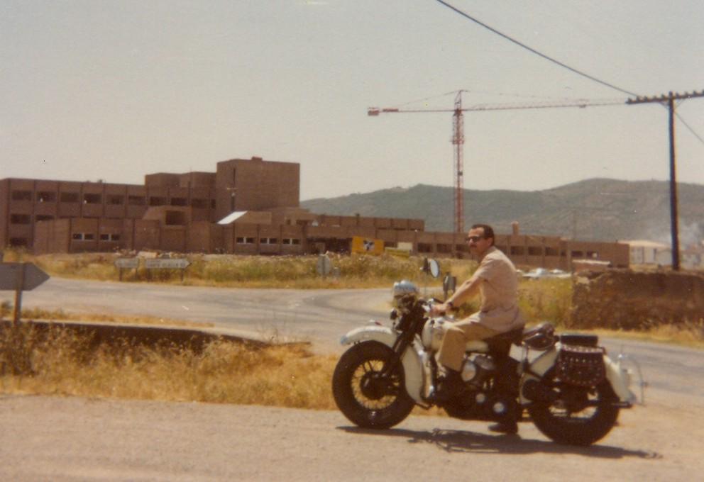 1979 - Harley-Davidson WL45 - Obras Hospital de Llerena (Badajoz)