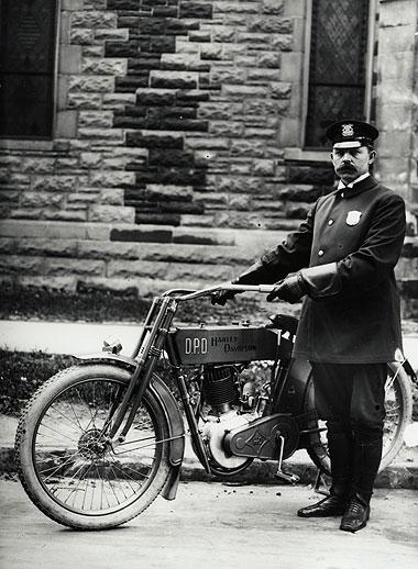 1908 - Departamento de Policía de Detroit