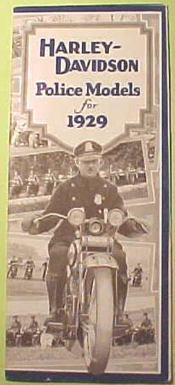Curioso folleto comercial de 1929.