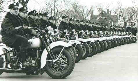 Formación de policías del estado de Minnesota, 1930.