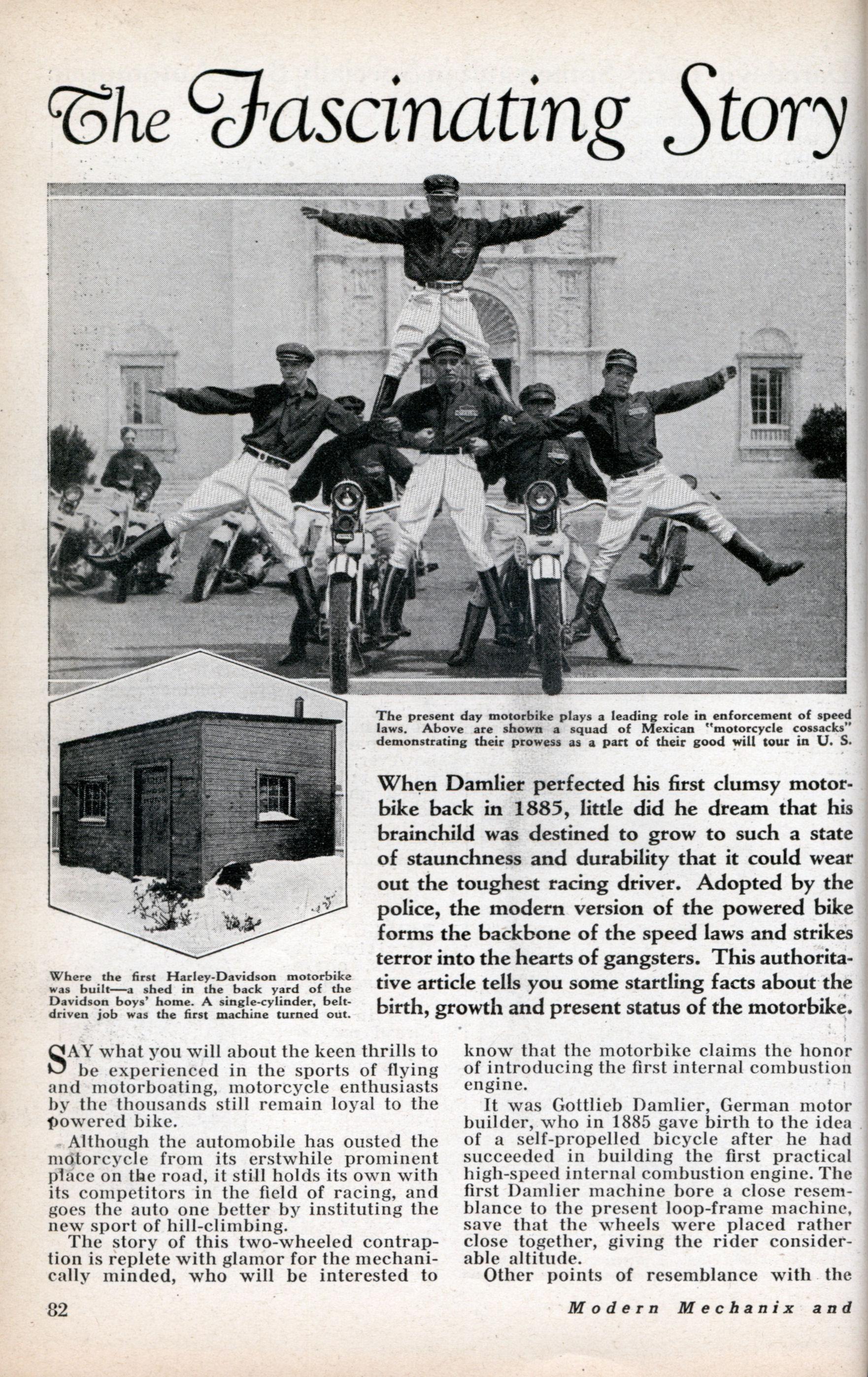 Policía de México - 1932