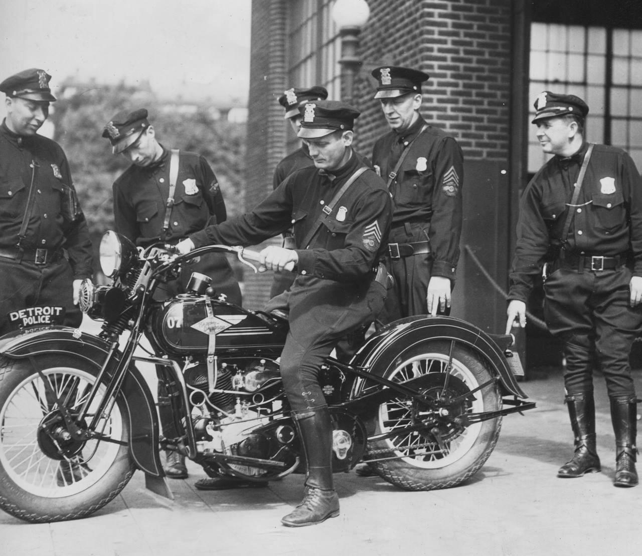 1934 - División de la policia de Detroit