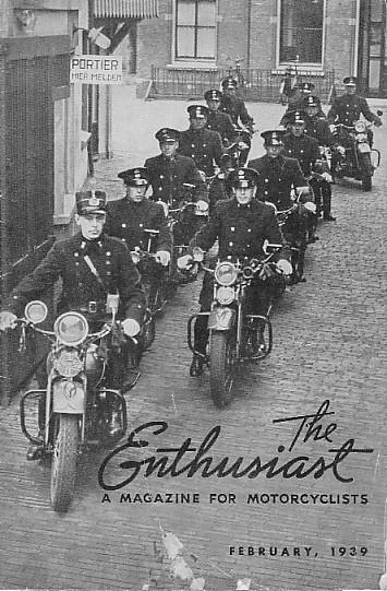 La revista The Enthusiast de Febrero de 1939