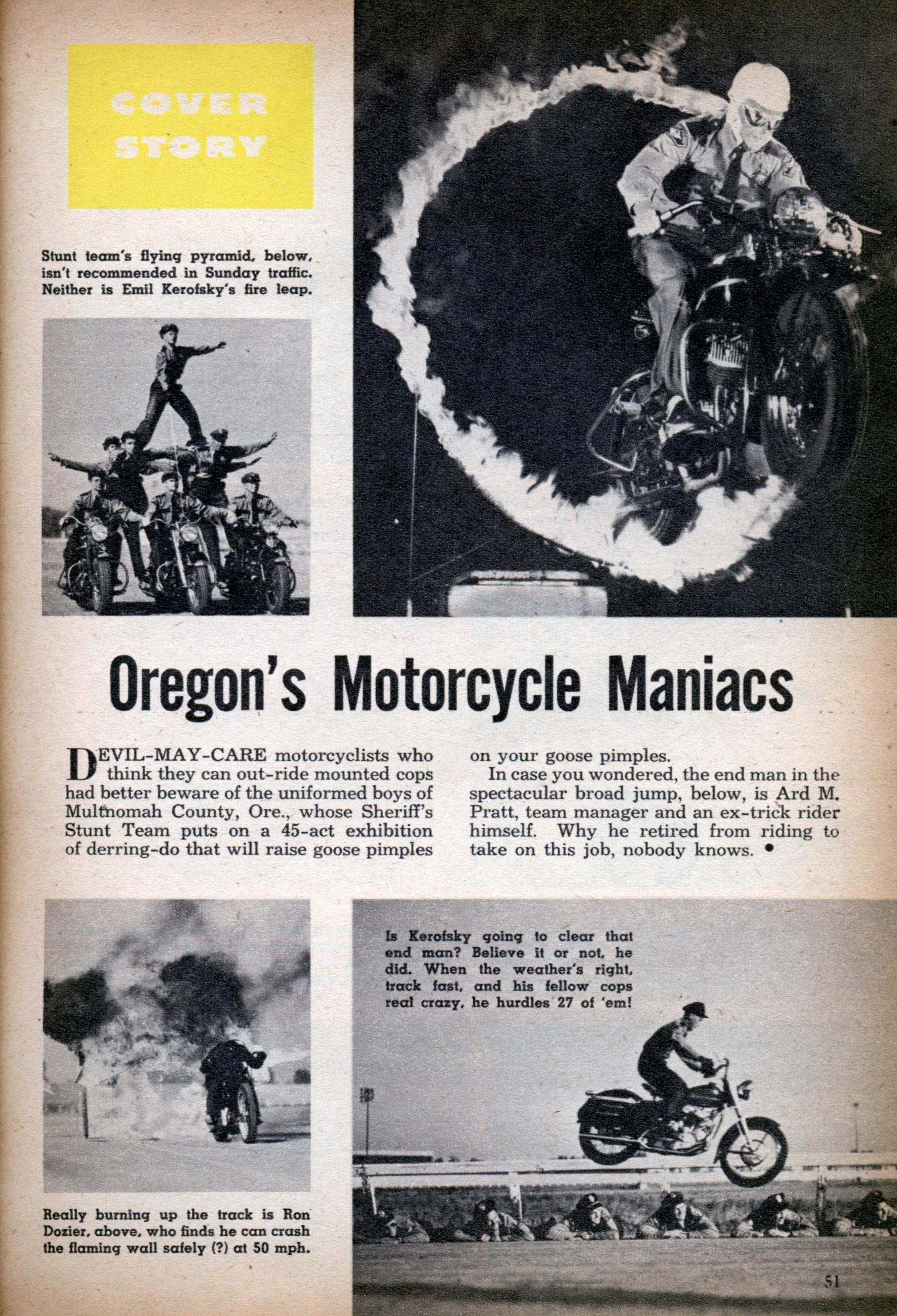 1953 - Policía de Oregon