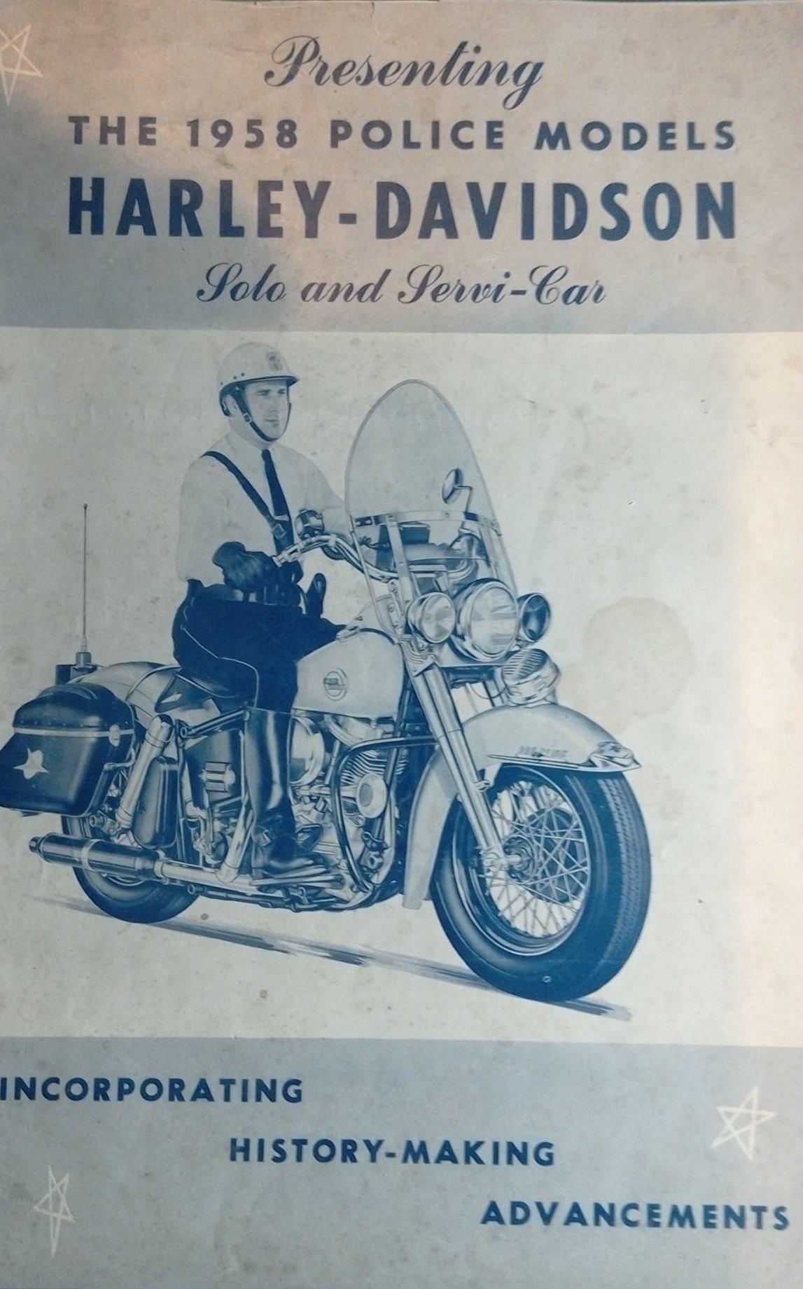 Modelos para Policía de 1958 - portada