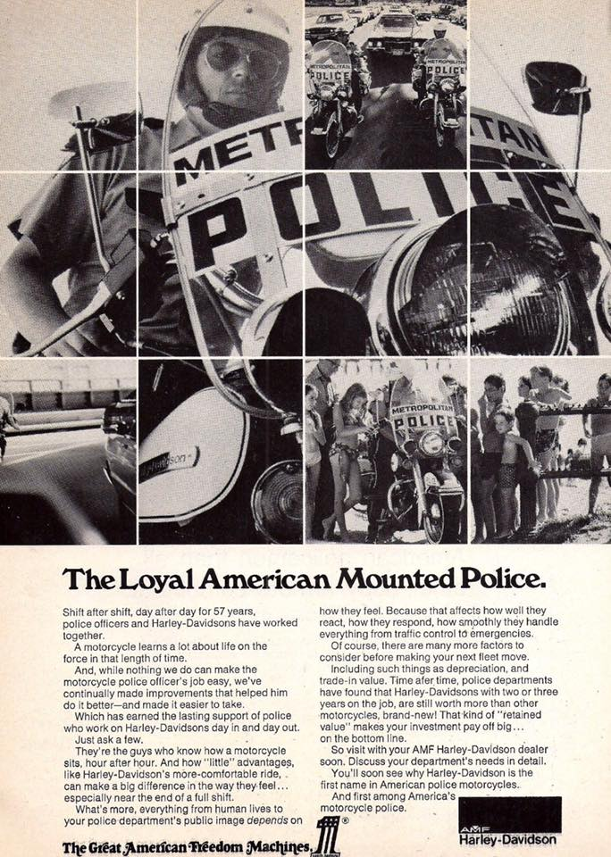 1960s - The Loyal American Mounted Police
