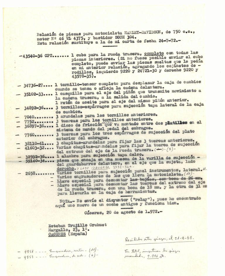 1972-08-20-Relacion-de-Piezas