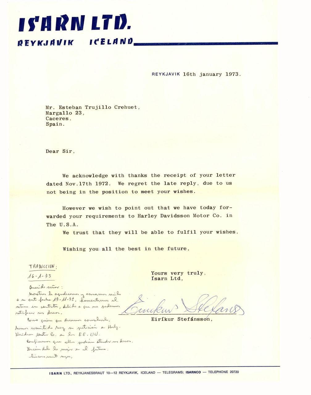 973-01-16-Carta-desde-Islandia