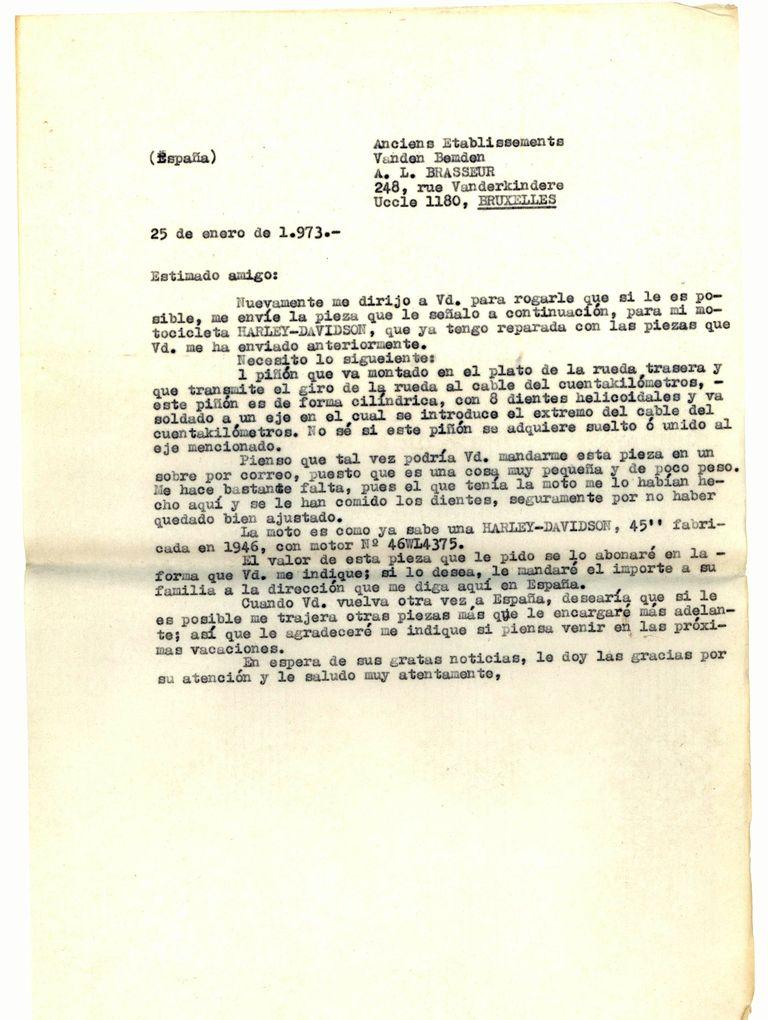 1973-01-25-Carta-Sdo-pieza-cuentakilometros