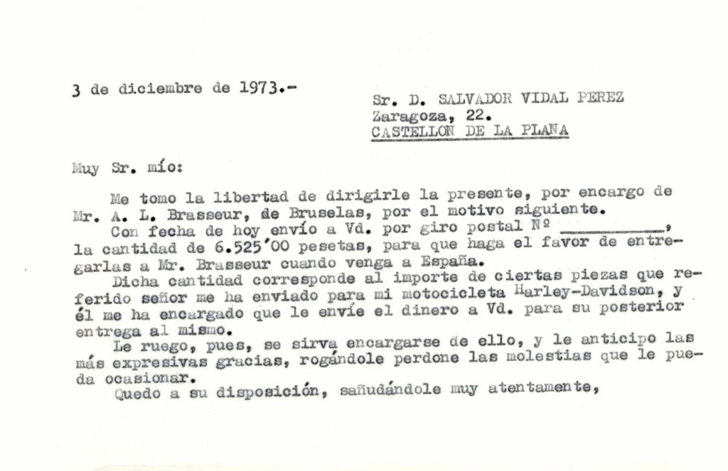 1973-12-03-Carta-a-Castellon