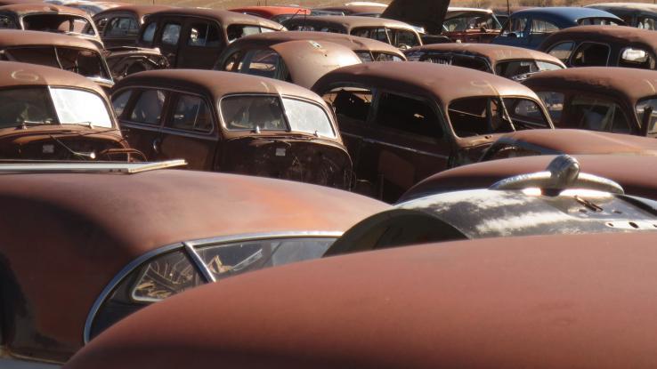 Coches de los años 40