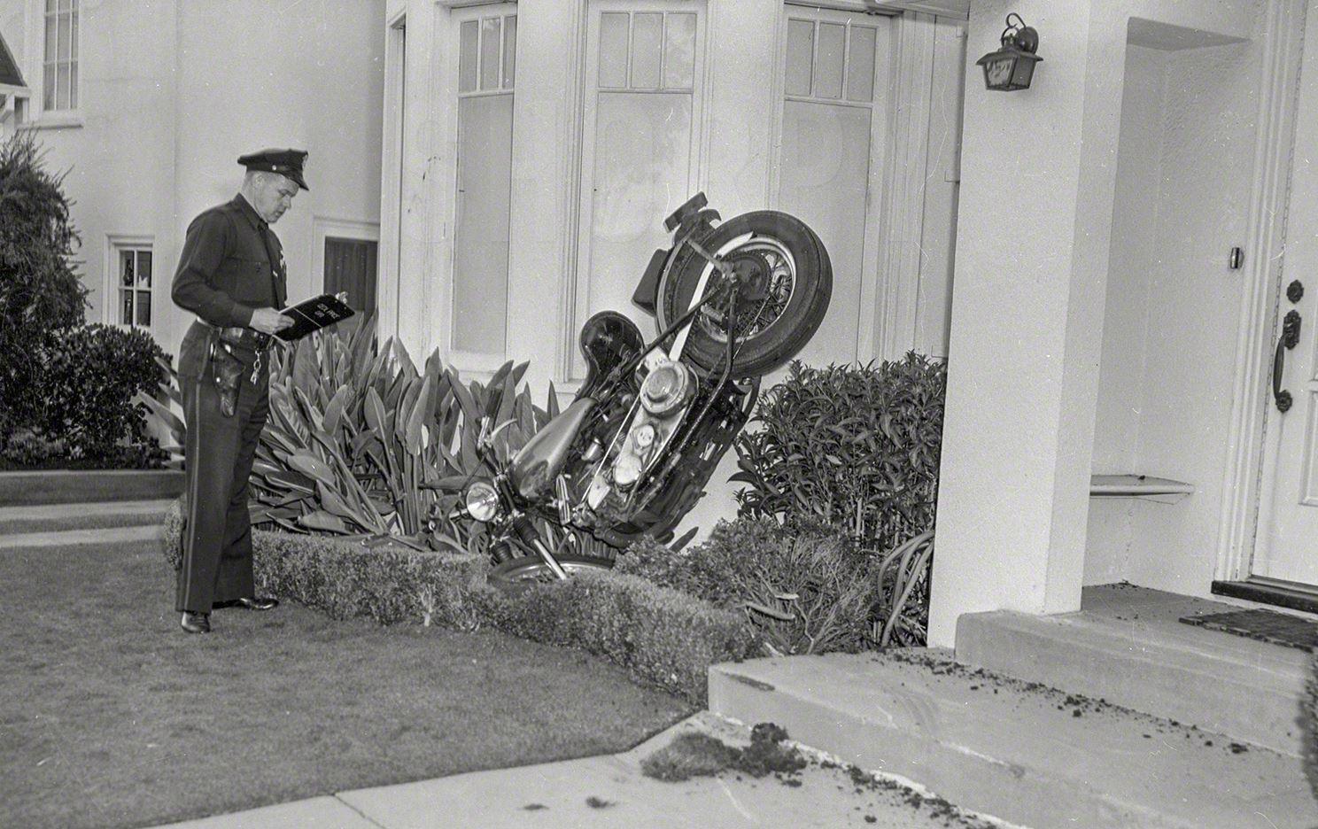 accidente policia