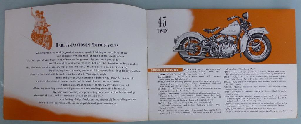 Knucklehead folleto publicitario
