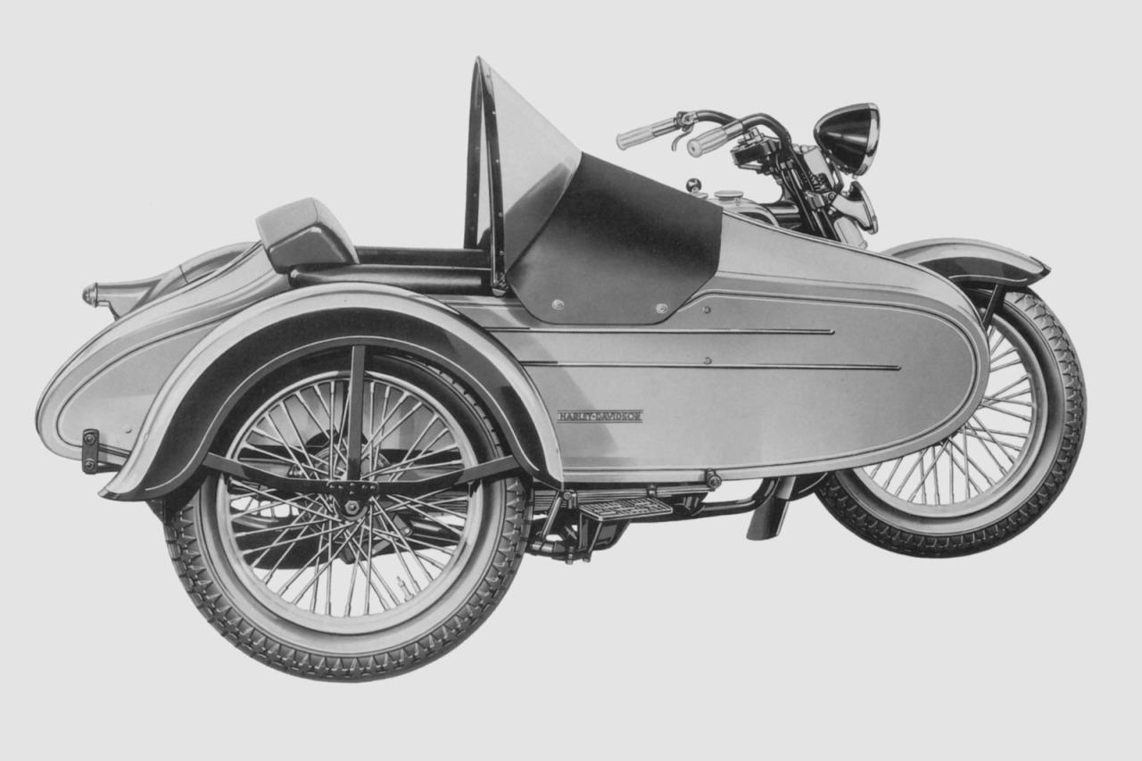 1936 - Modelo ES sidecar