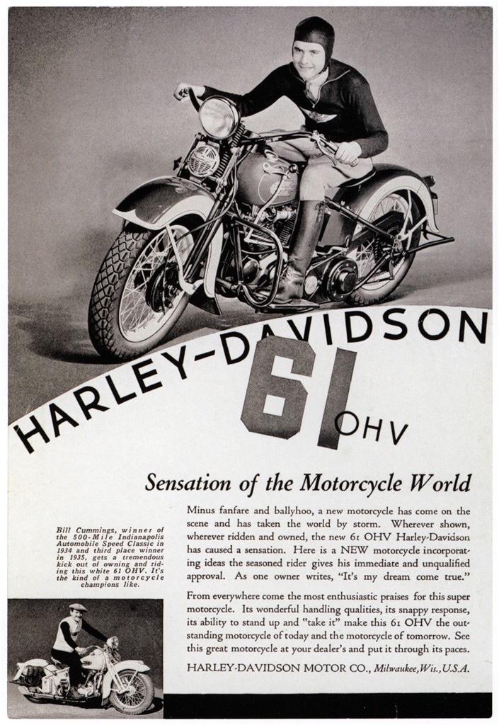 Primer anuncio del modelo 61