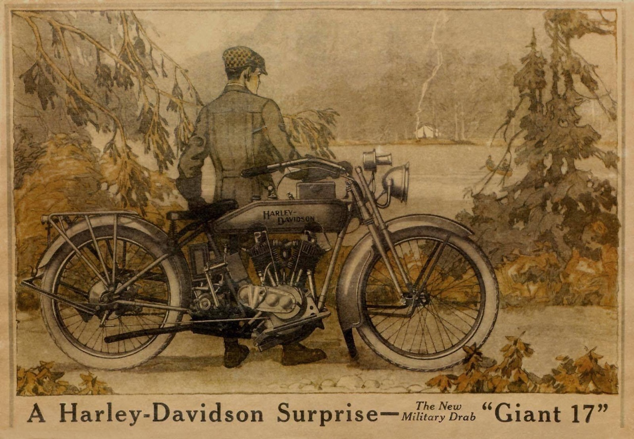 1917 - A Harley-Davidson Surprise