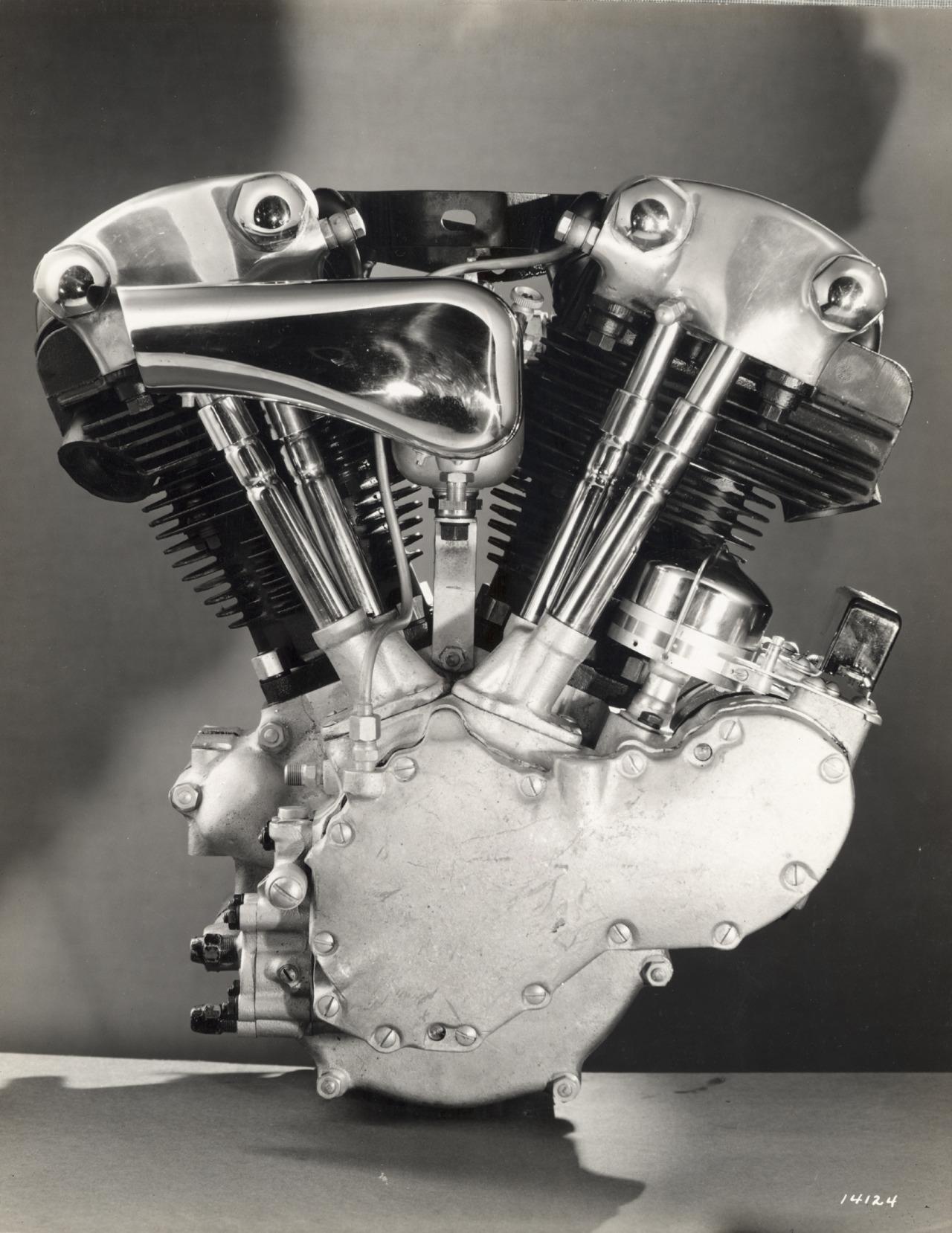 Motor de válvulas en cabeza OHV - Knucklehead