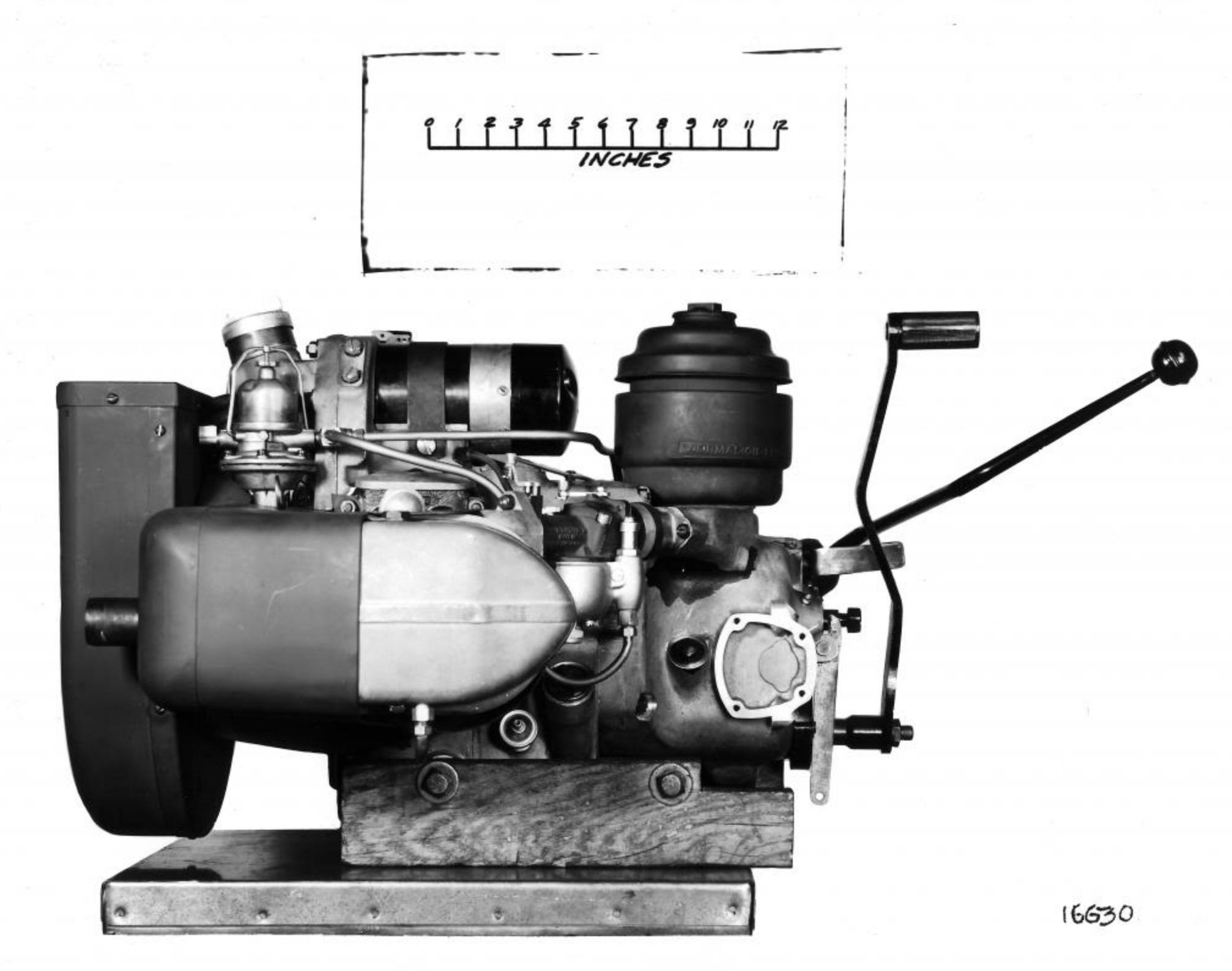 Motor Boxer XOD con válvulas en cabeza