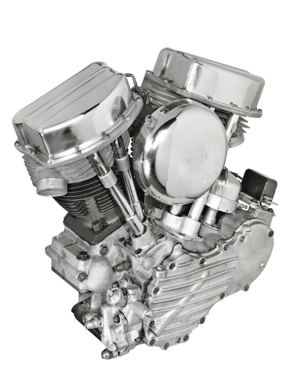 Motor OHV - Panhead