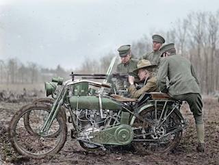 Harley-Davidson en la Primera Guerra Mundial